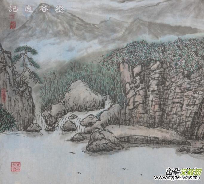 赵爱国--双面中国画发明人
