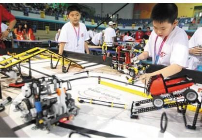 第十届中国青少年机器人竞赛开幕