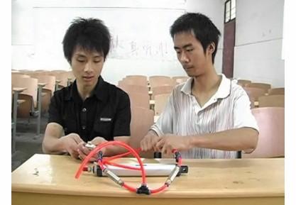 """大学生发明获得全国大奖 """"生命之泵""""创造神奇"""
