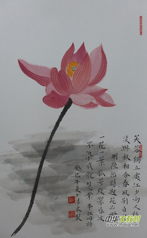 青年实力派画家林清泉佛教画欣赏图片