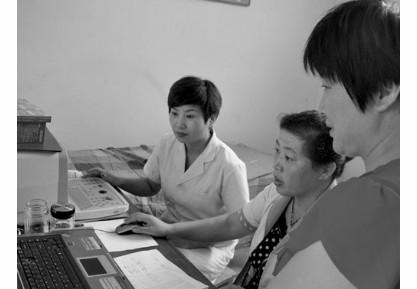 薛城区常庄镇计生人员经指纹识别认定育龄妇女信息