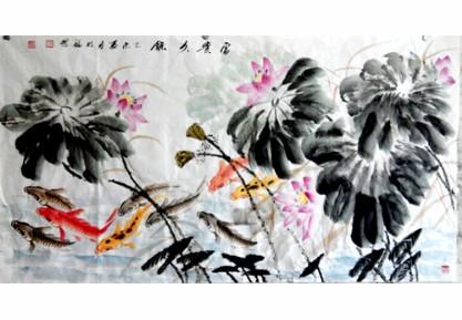 张明福国画艺术